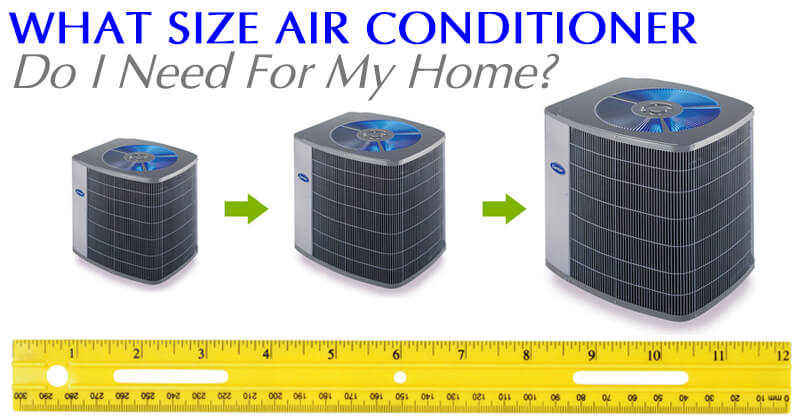 What Size Air Conditioner Do I Need For My Home Anderson