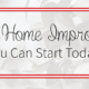 Holiday Season Home Improvements