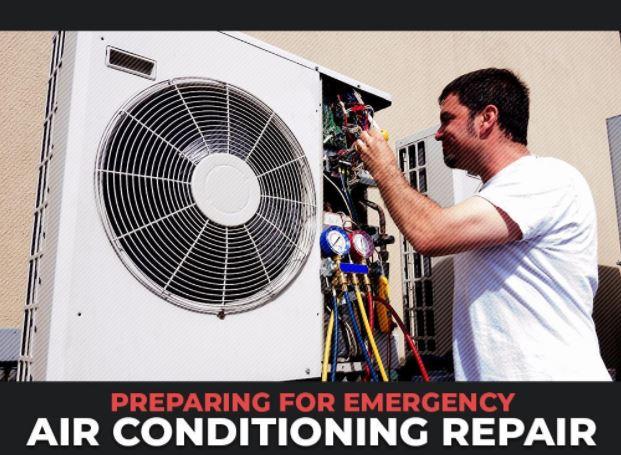 Preparing Emergency Air Conditioning Repair